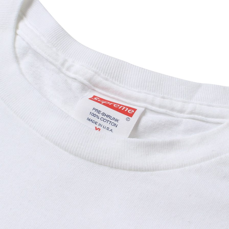 SUPREME X LOUIS VUITTON BOX LOGO TEE WHITE