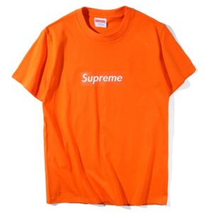 SUPREME ORANGE BOX LOGO TEE