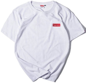 SUPREME SMALL BOX LOGO WHITE