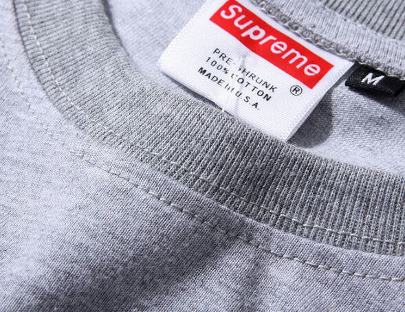SUPREME SMALL BOX LOGO GREY
