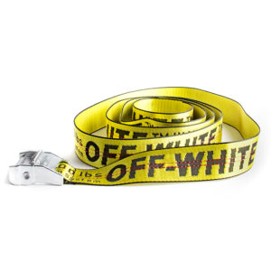 OFF WHITE BELT GOLD