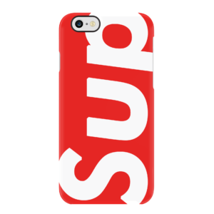 SUPREME SUP IPHONE CASE