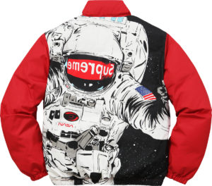 SUPREME ASTRONAUT PUFFY JACKET RED