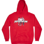 FUCKING AWESOME FRIENDS HOODIE RED