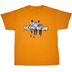 FUCKING AWESOME FRIENDS TEE ORANGE