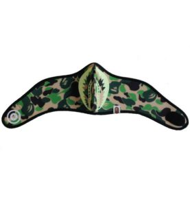BAPE SHARK REFLECTIVE MASK