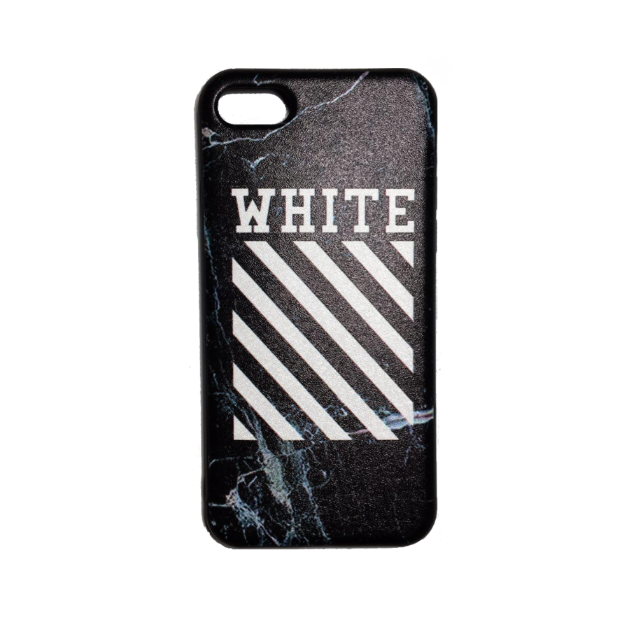 OFF WHITE LOGO IPHONE CASE BLACK