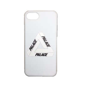 PALACE LOGO IPHONE CASE WHITE