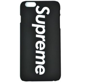 SUPREME LOGO IPHONE CASE BLACK