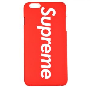 SUPREME LOGO IPHONE CASE RED