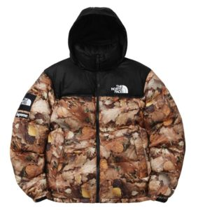 THE NORTH FACE X SUPREME NUPTSE JACKET LEAVES