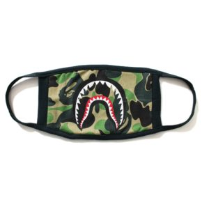 BAPE ABC CAMO SHARK MASK