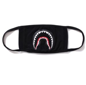 BAPE ABC BLACK SHARK MASK