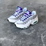 NIKE AIR MAX 95 QS WHITE PURPLE