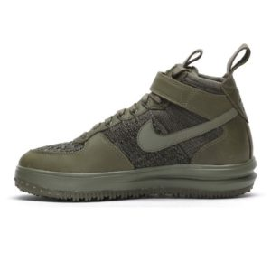NIKE LUNAR FORCE 1 FLYKNIT WORKBOOT MEDIUM OLIVE