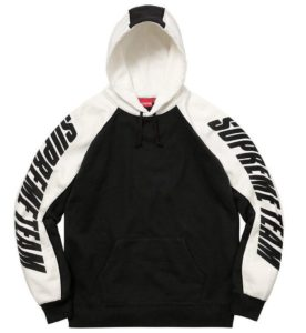SUPREME GT HOODED SWEATSHIRT BLACK