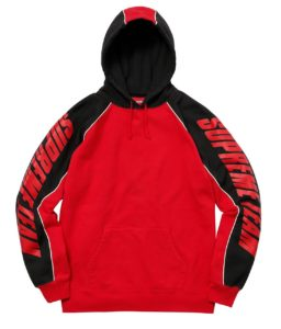 SUPREME GT HOODED SWEATSHIRT RED