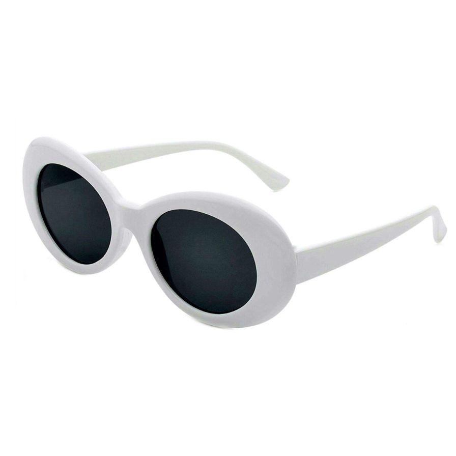 COBAIN GLASSES WHITE BLACK
