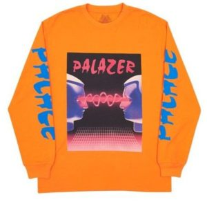 PALACE PALAZER LONGSLEEVE ORANGE
