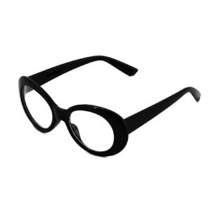 COBAIN GLASSES BLACK WHITE