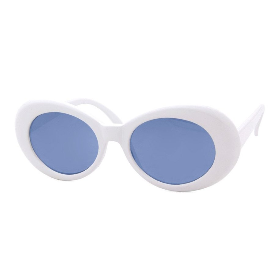 COBAIN GLASSES WHITE BLUE
