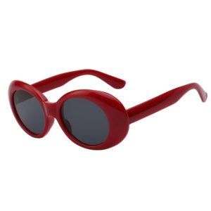 COBAIN GLASSES MAROON BLACK